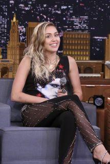 Miley Cyrus Jimmy Fallon Show
