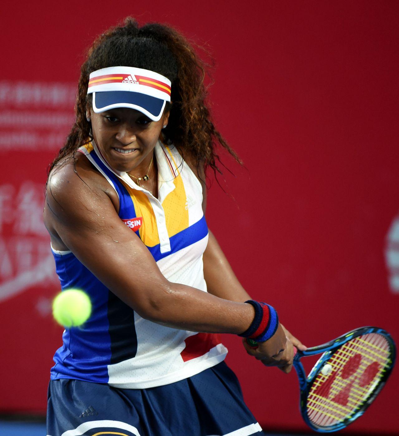 Naomi Osaka – 2017 WTA Hong Kong Tennis Open in Hong Kong
