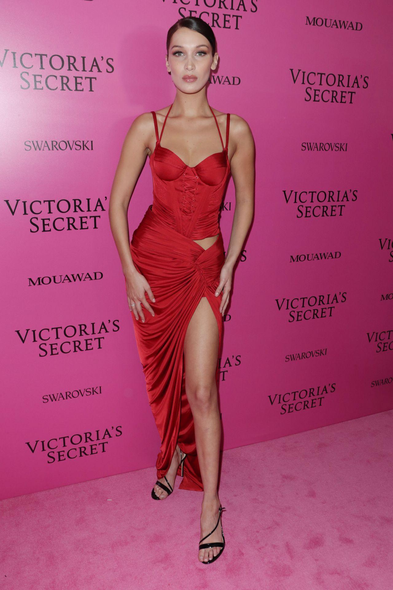 Bella Hadid Victorias Secret Fashion Show After Party