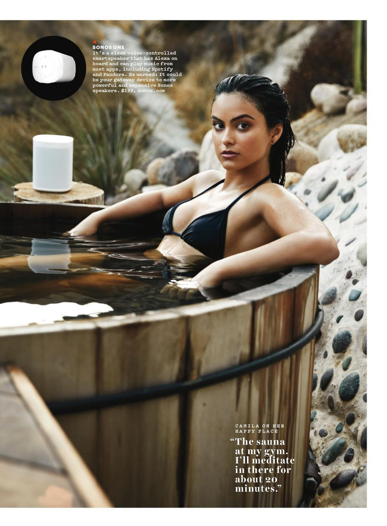 Camila Mendes  Mens Health Magazine December 2017 Issue