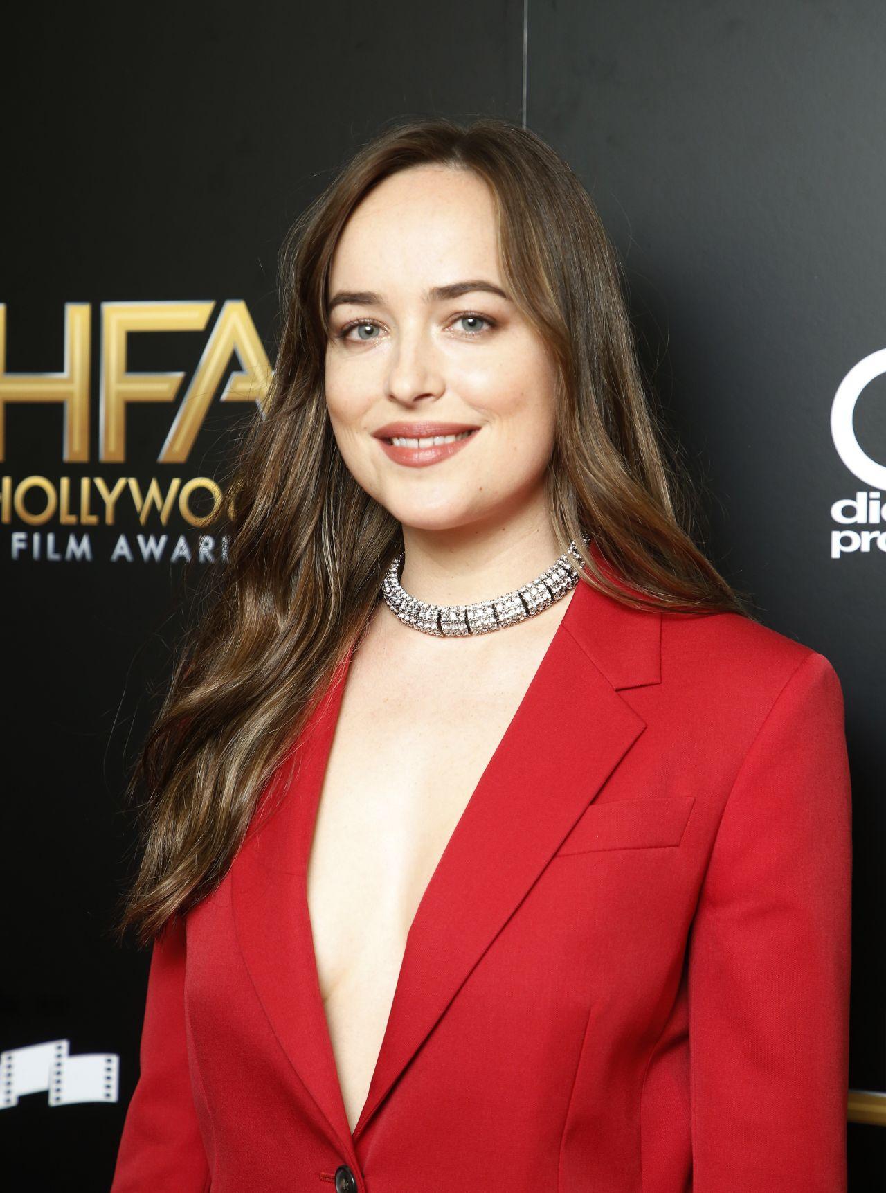 Dakota Johnson Hollywood Film Awards 2017 In Los Angeles