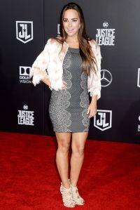 Maria Elisa Camargo  Justice League Red Carpet in Los