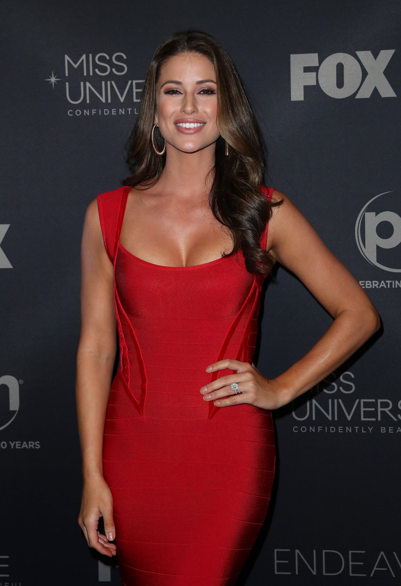 Nia Sanchez  Miss Universe 2017 in Las Vegas