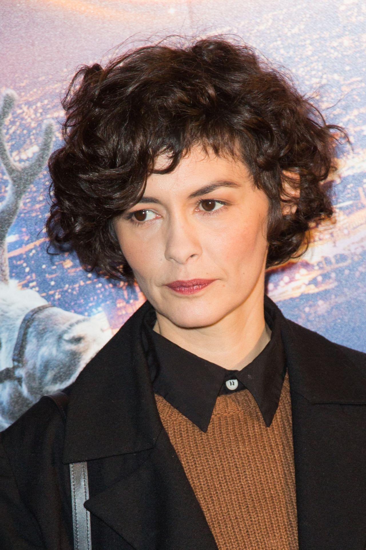 Audrey Tautou  Santa and Cie Premiere in Paris