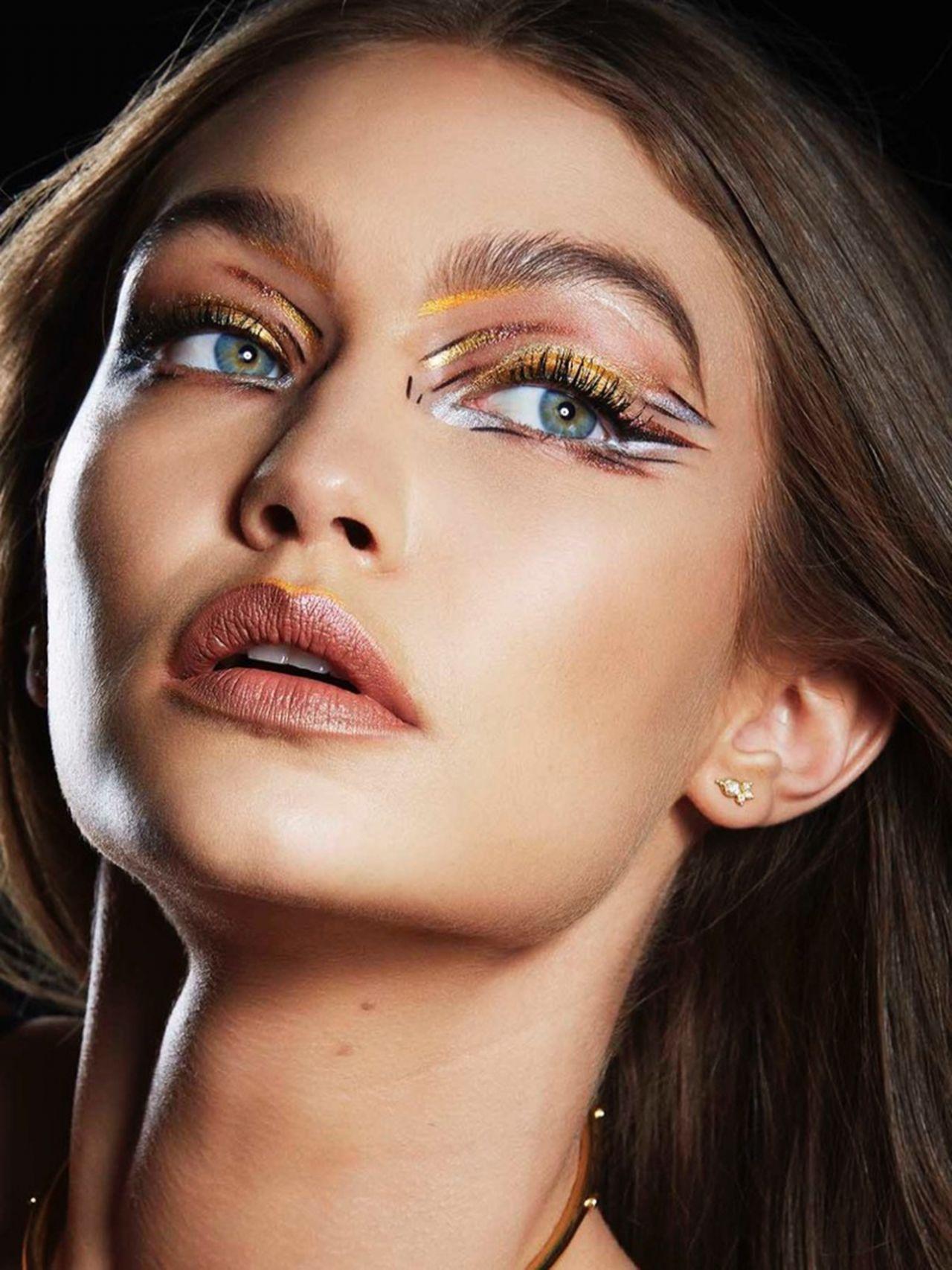 Gigi Hadid Maybelline Photoshoot