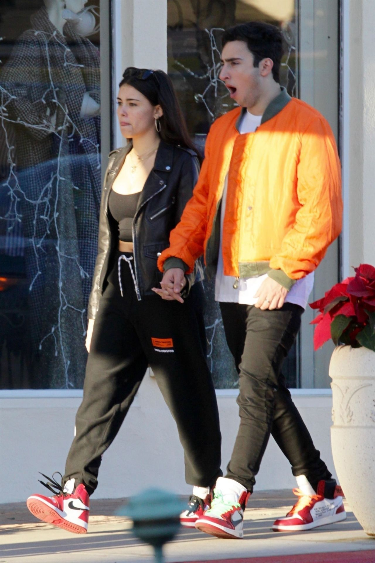 Madison Beer and Her Boyfriend Zack Bia Out in Beverly Hills
