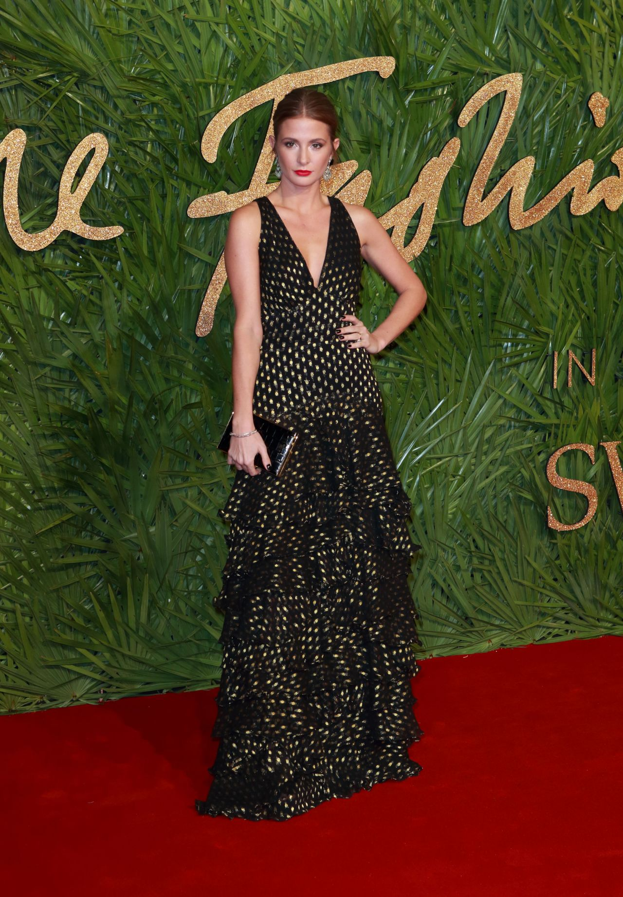 Millie Mackintosh  Fashion Awards 2017 in London