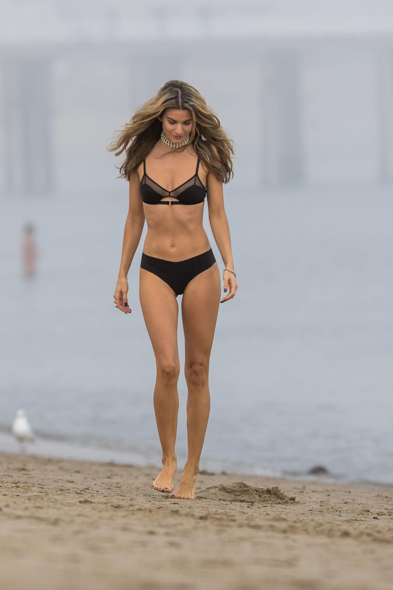 Rachel McCord in Bikini on Beach in Malibu