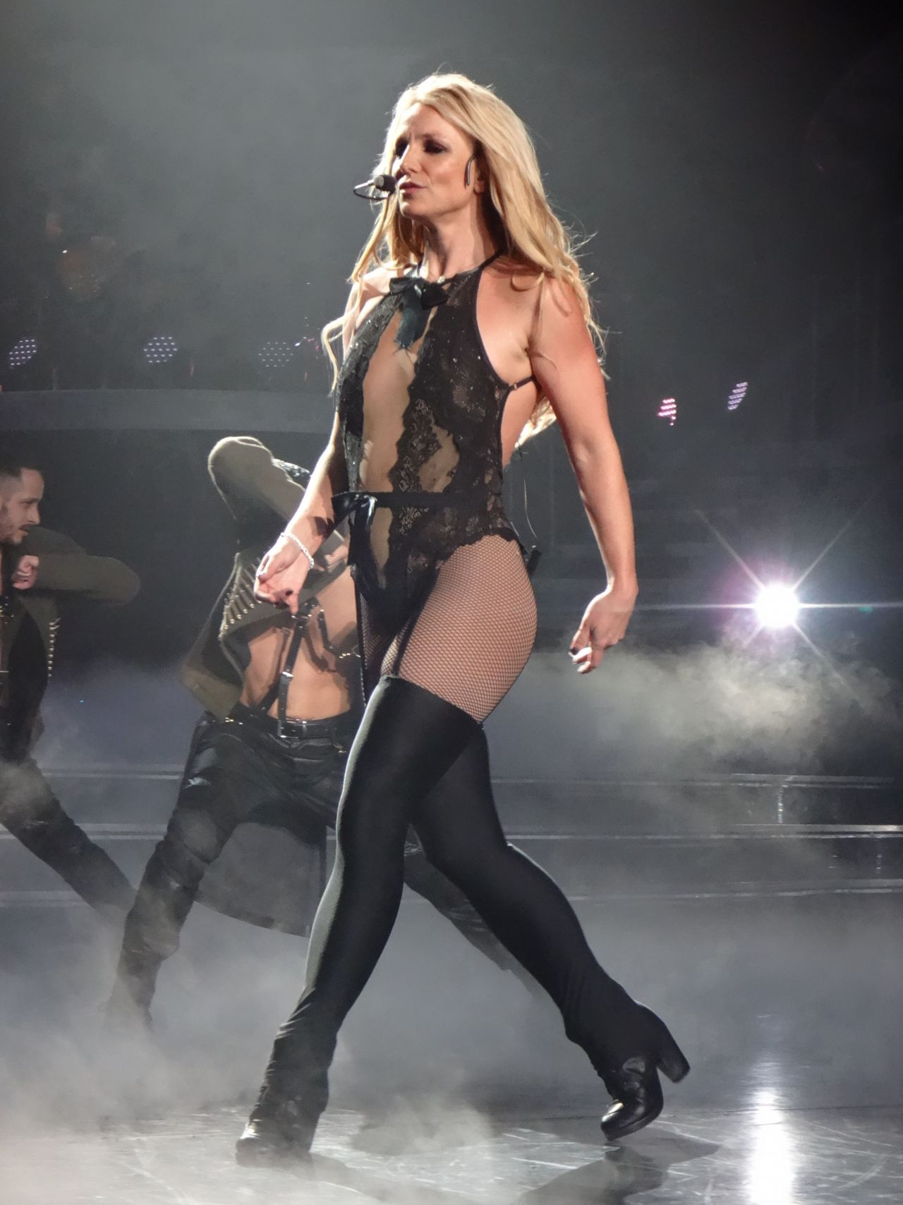 Britney Spears Performs at the AXIS at Planet Hollywood in Las Vegas