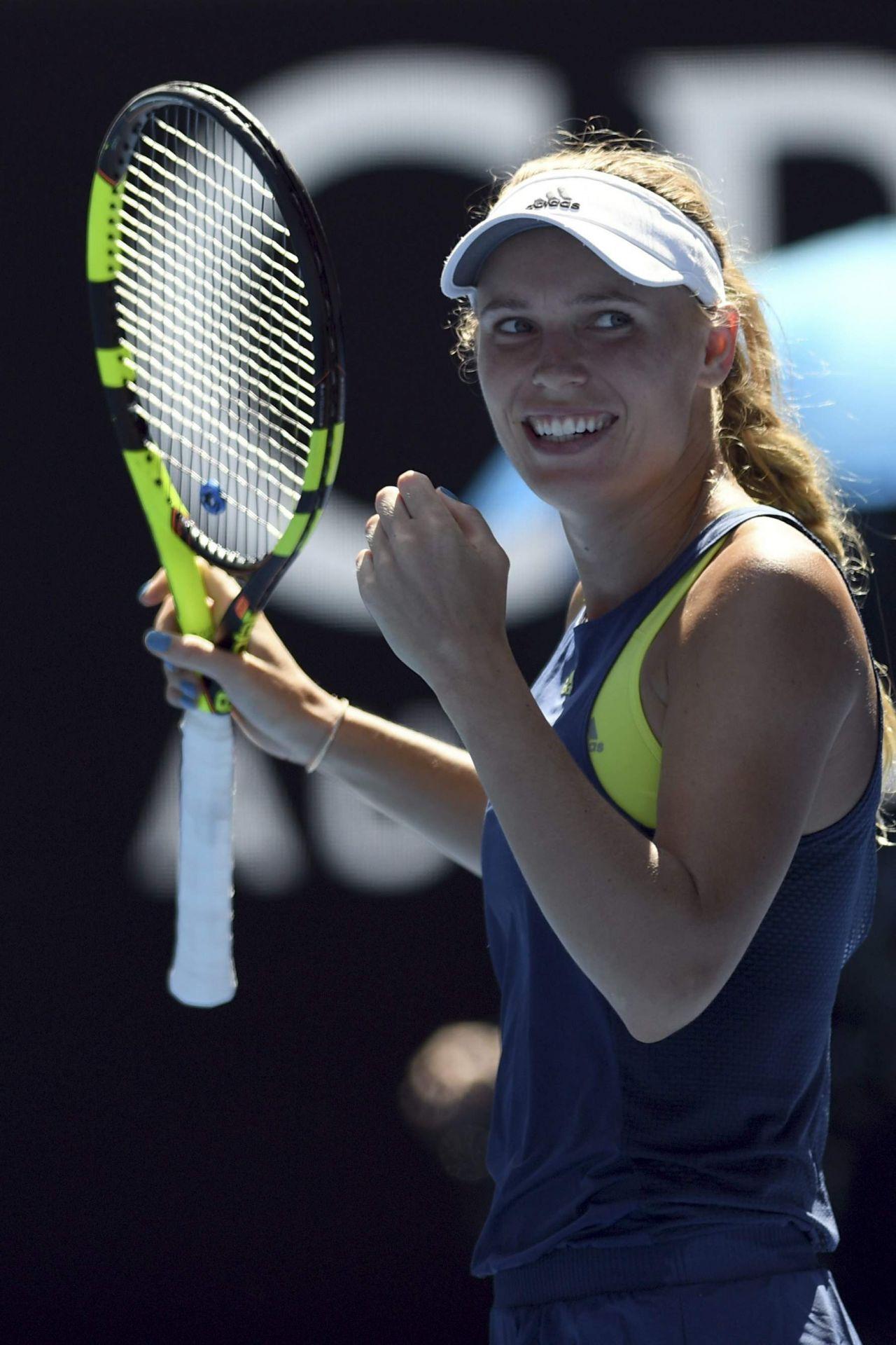Caroline Wozniacki  Australian Open 01252018