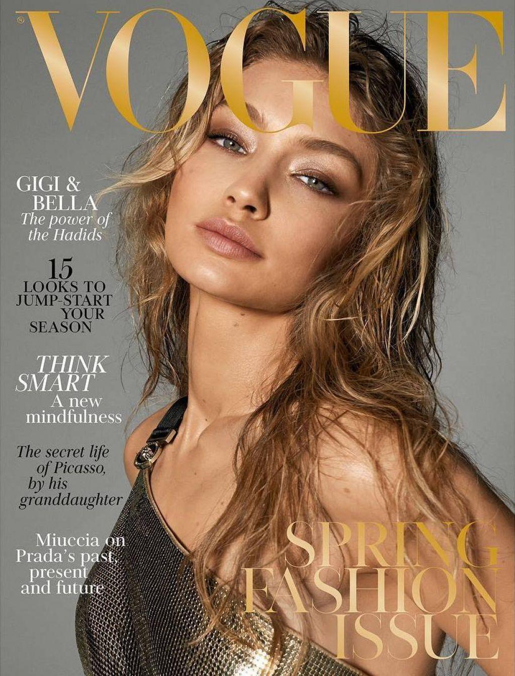 Gigi Hadid Vogue Covers