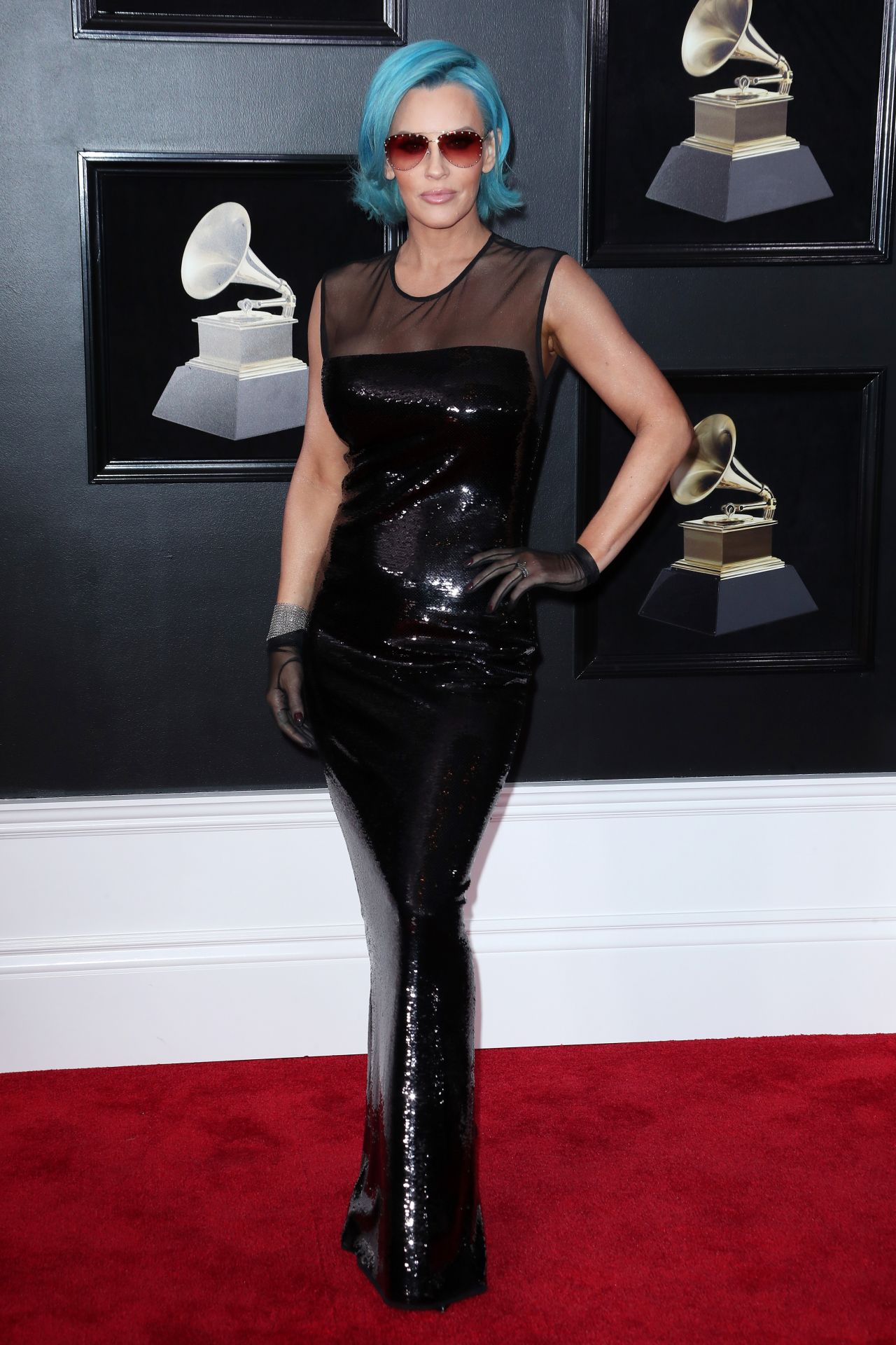 Jenny McCarthy  2018 Grammy Awards in New York