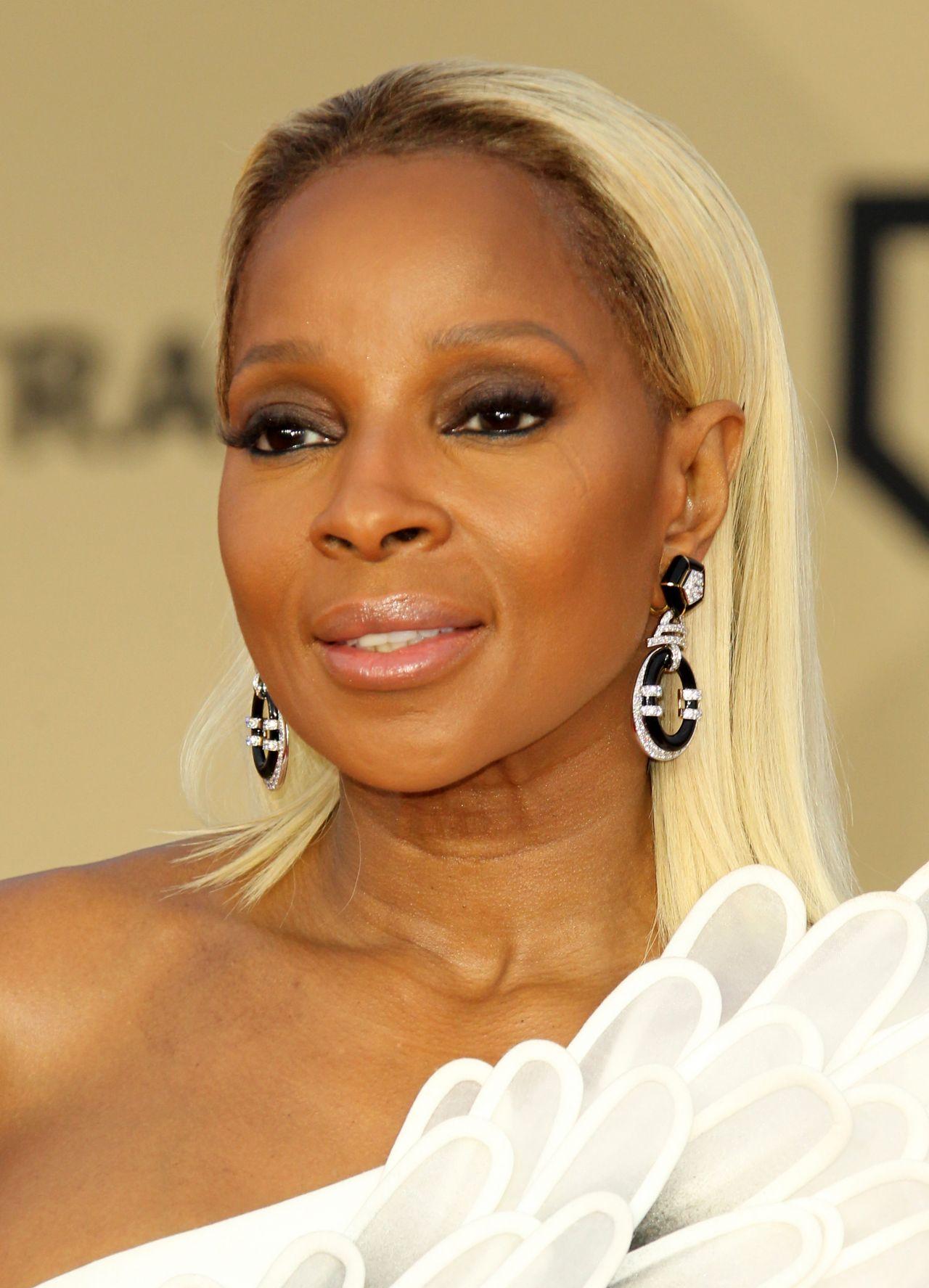 Mary J Blige – 2018 SAG Awards in LA