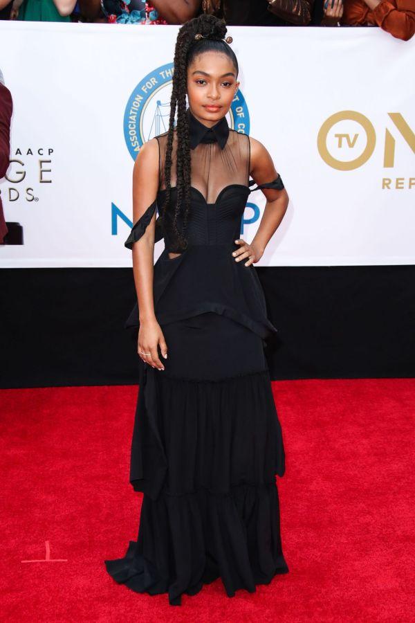 NAACP Image Awards 2018 Yara Shahidi