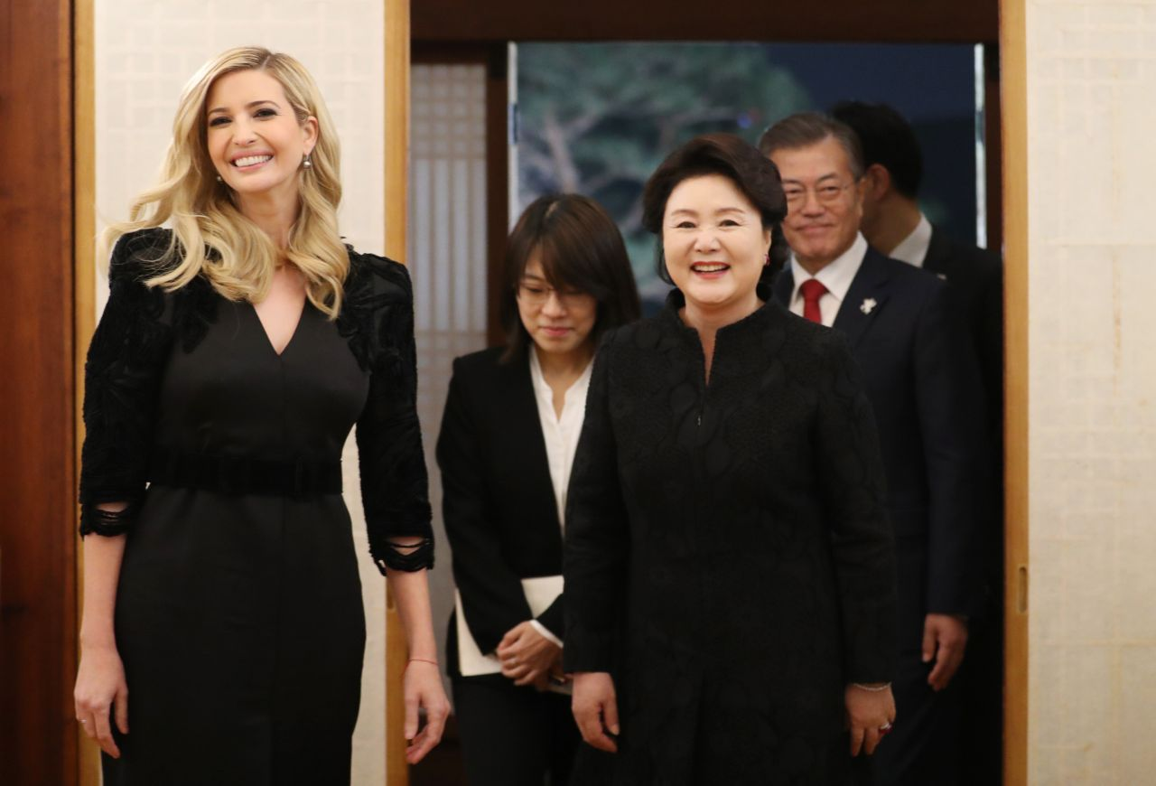 Ivanka Trump Resume Ivanka Trump Dinner At The Presidential Office Cheong Wa