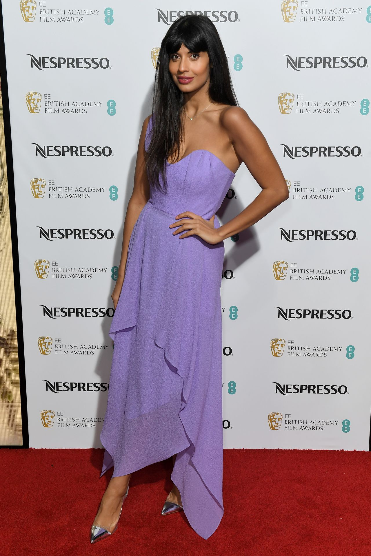 Jameela Jamil British Academy Film Awards Nominees Party