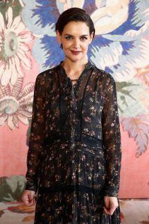 Katie Holmes Fashion Week 2018