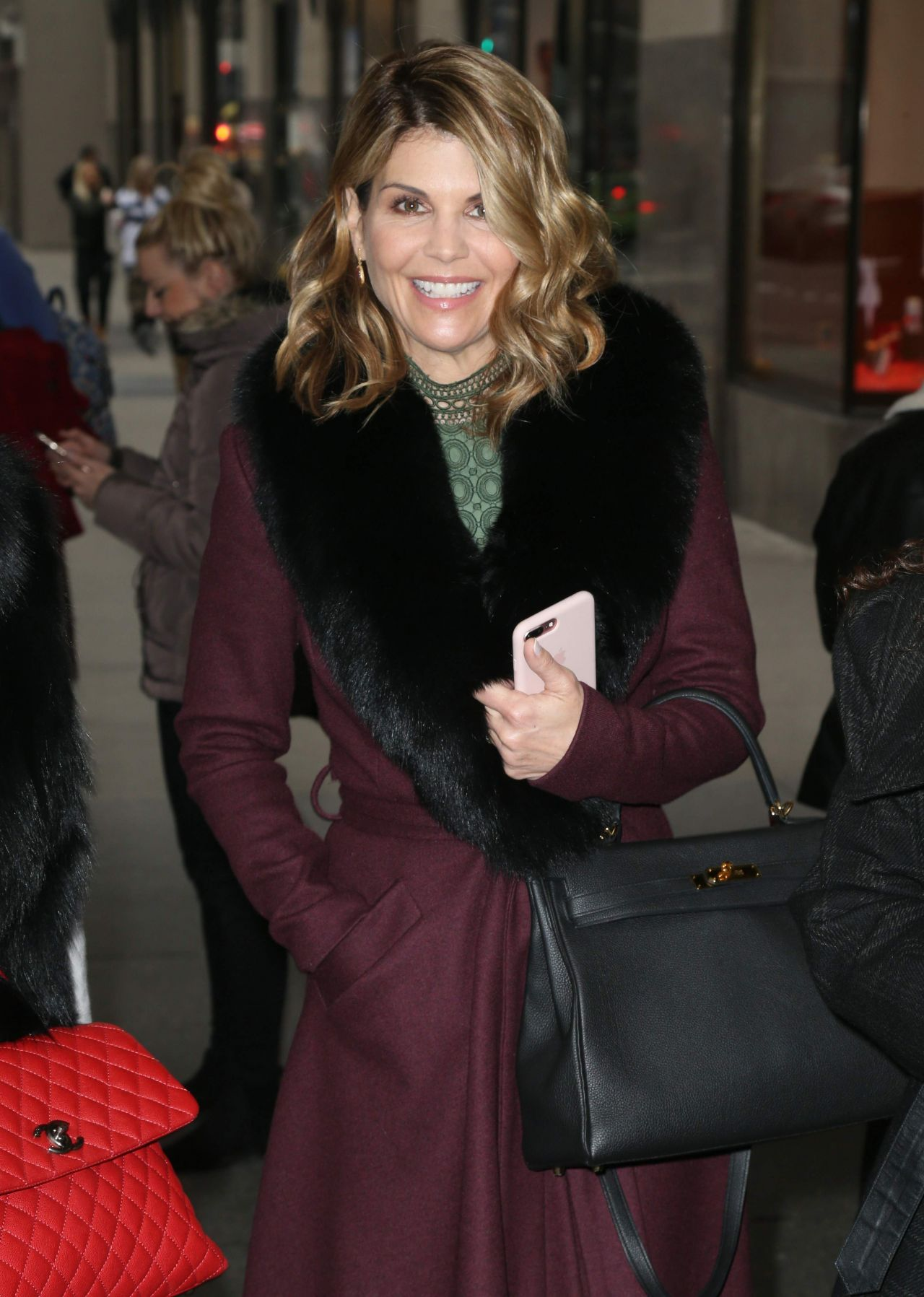 Lori Loughlin  Arriving at Today Show in NYC 02152018
