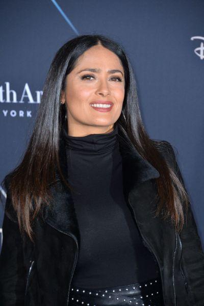 """Salma Hayek – """"A Wrinkle in Time"""" Premiere in Los Angeles"""