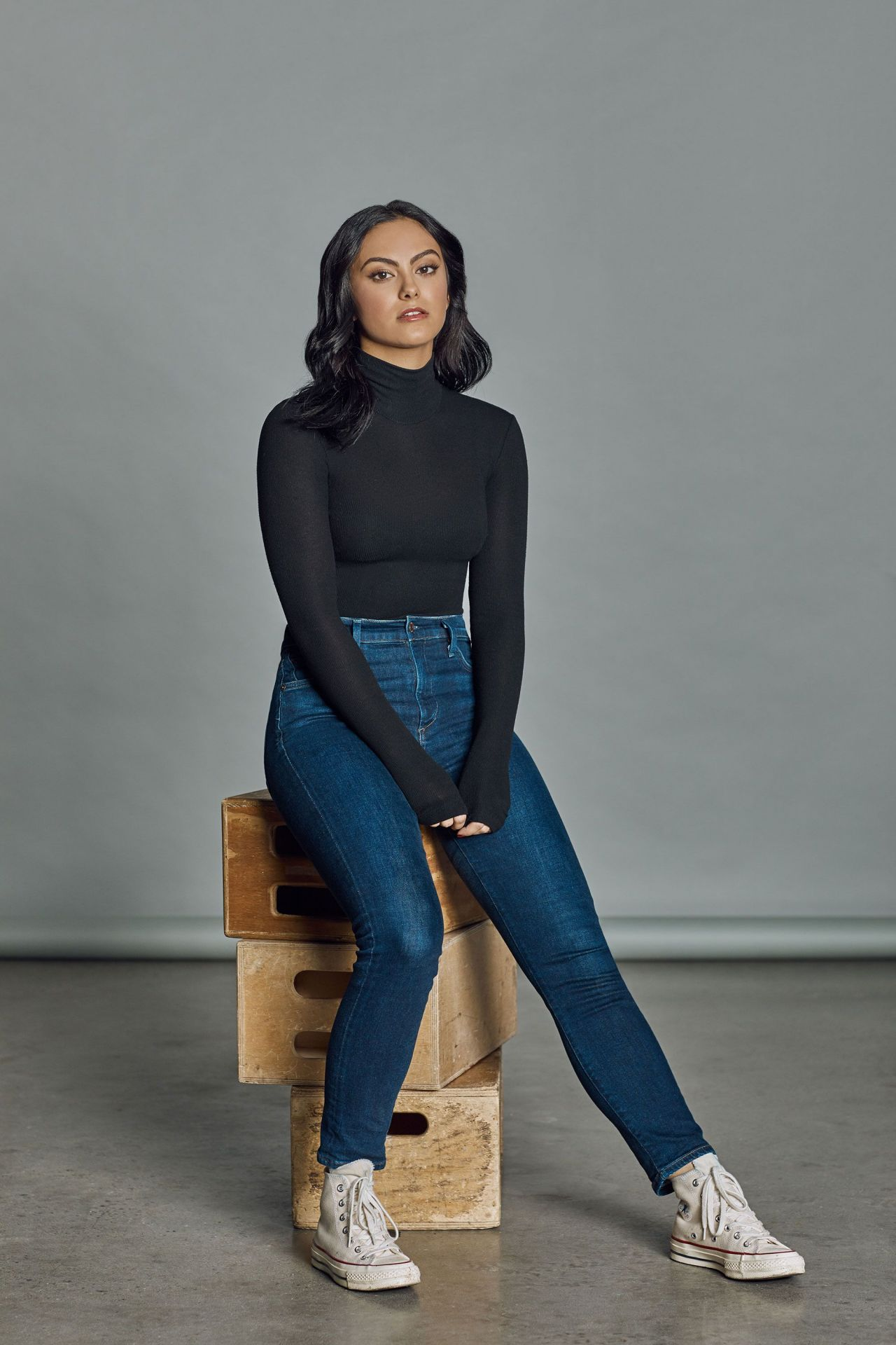 Camila Mendes  Photoshoot for Harpers Bazaar 2018