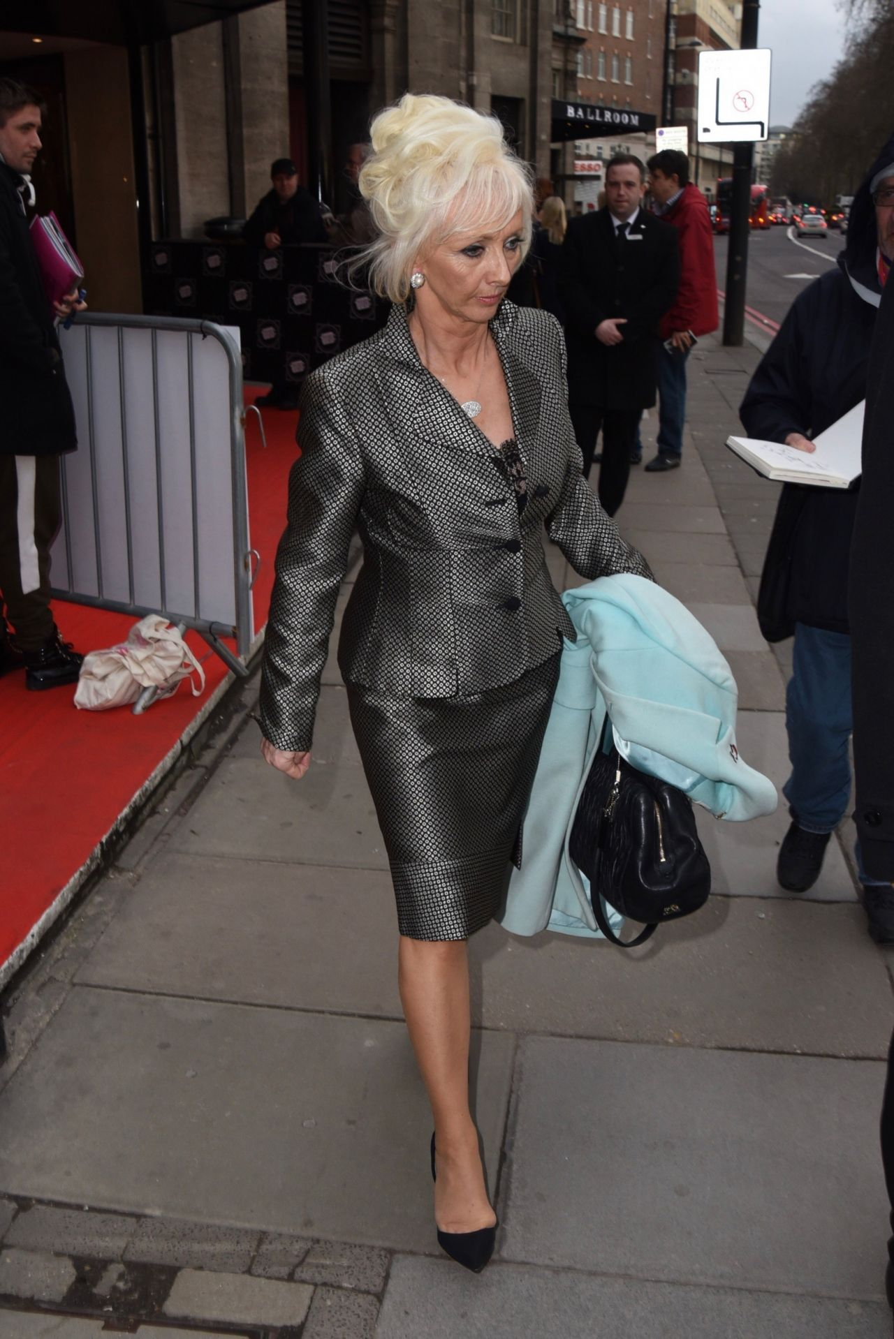 Debbie McGee  Arrives at the TRIC Awards 2018 London