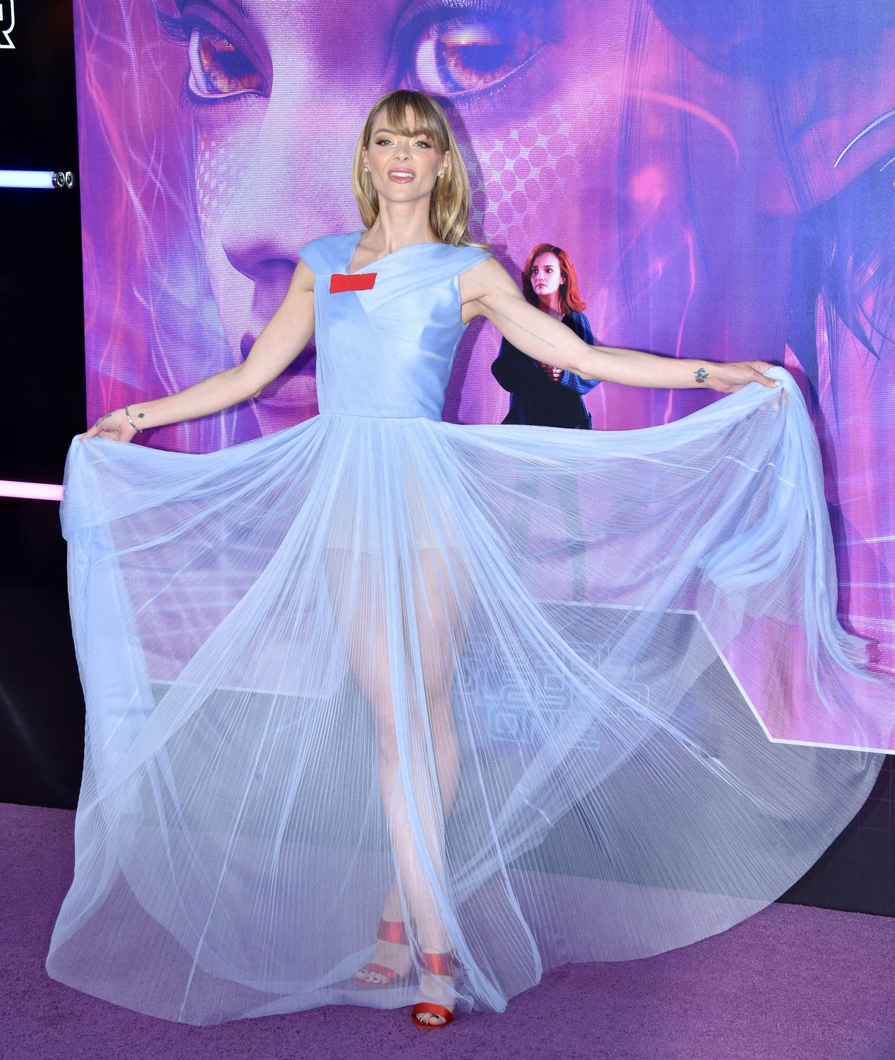 Jaime King  Ready Player One Premiere in Los Angeles