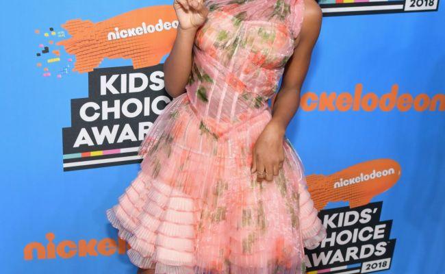 Marsai Martin 2018 Nickelodeon Kids Choice Awards