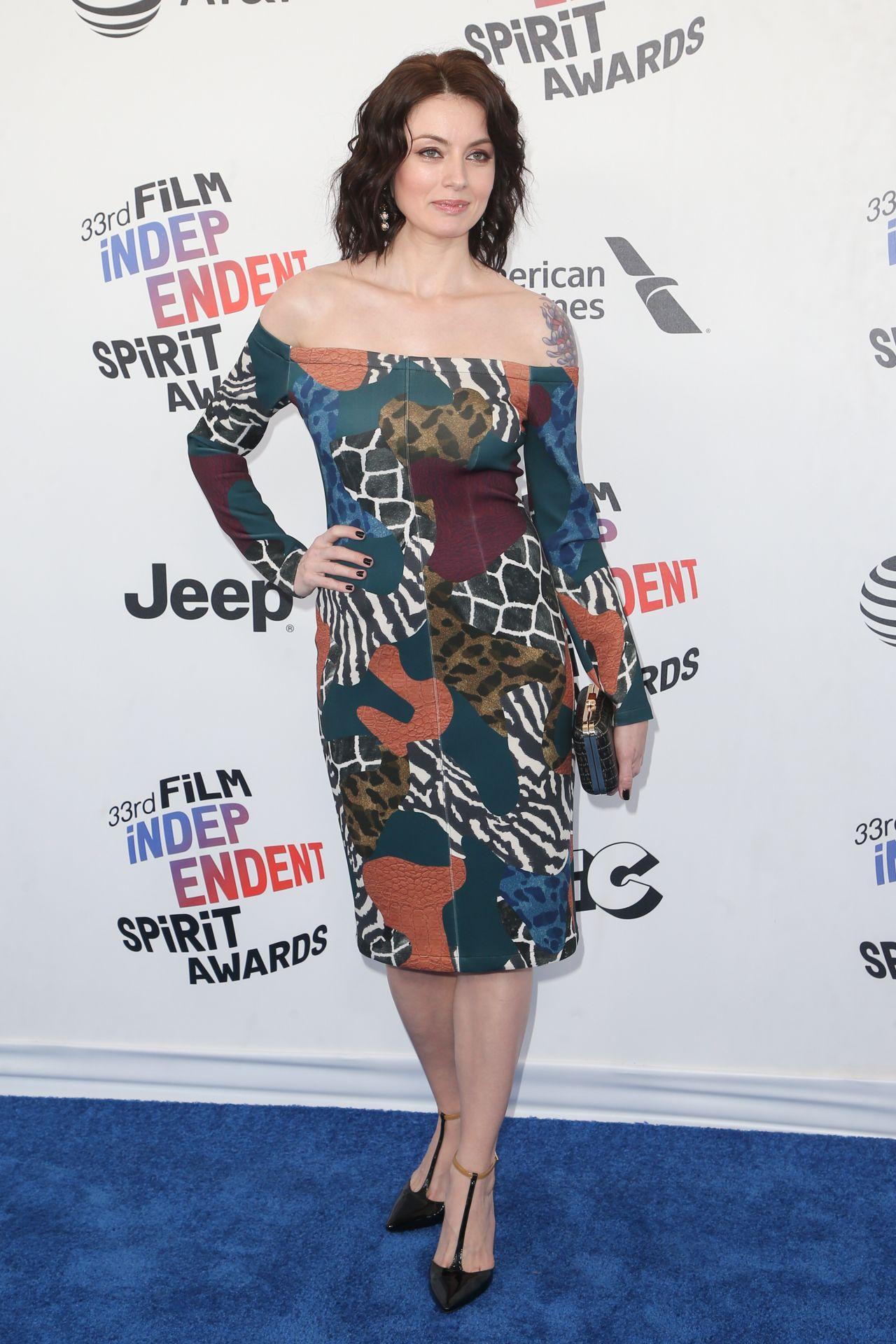 Natasha Romanova  2018 Film Independent Spirit Awards in Santa Monica