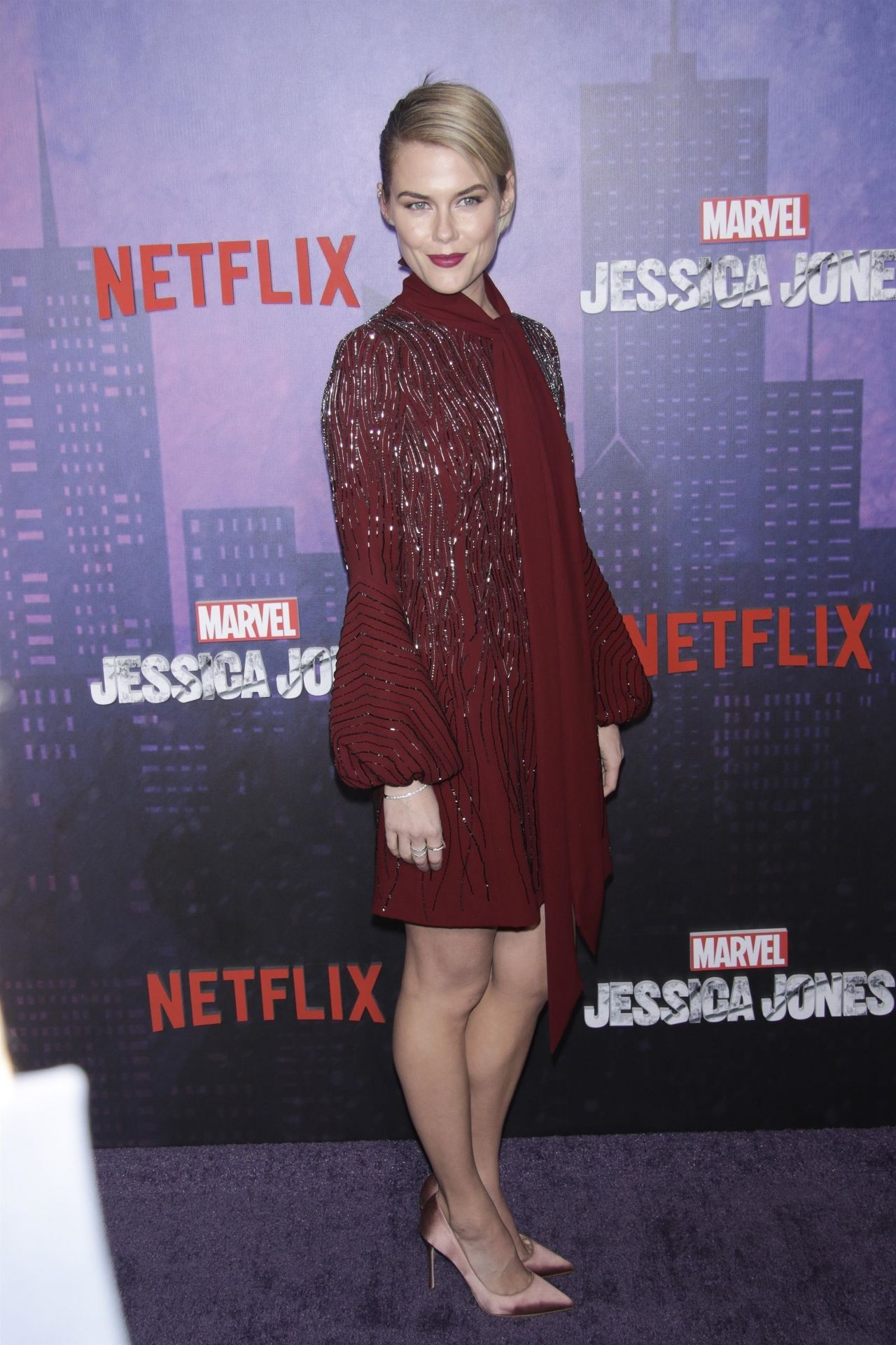 Rachael Taylor Jessica Jones Season 2 Premiere In NYC
