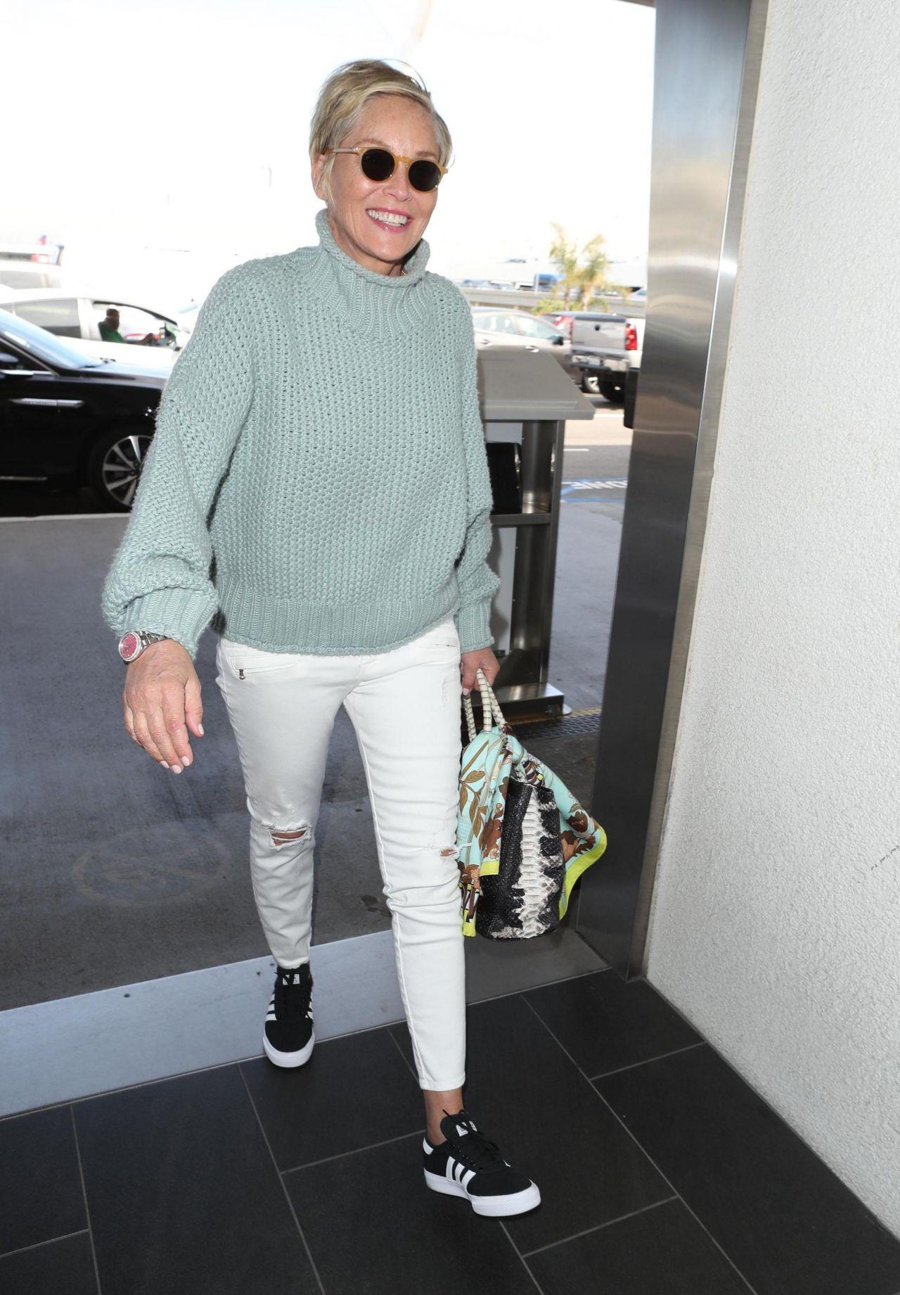Sharon Stone Latest Photos  CelebMafia