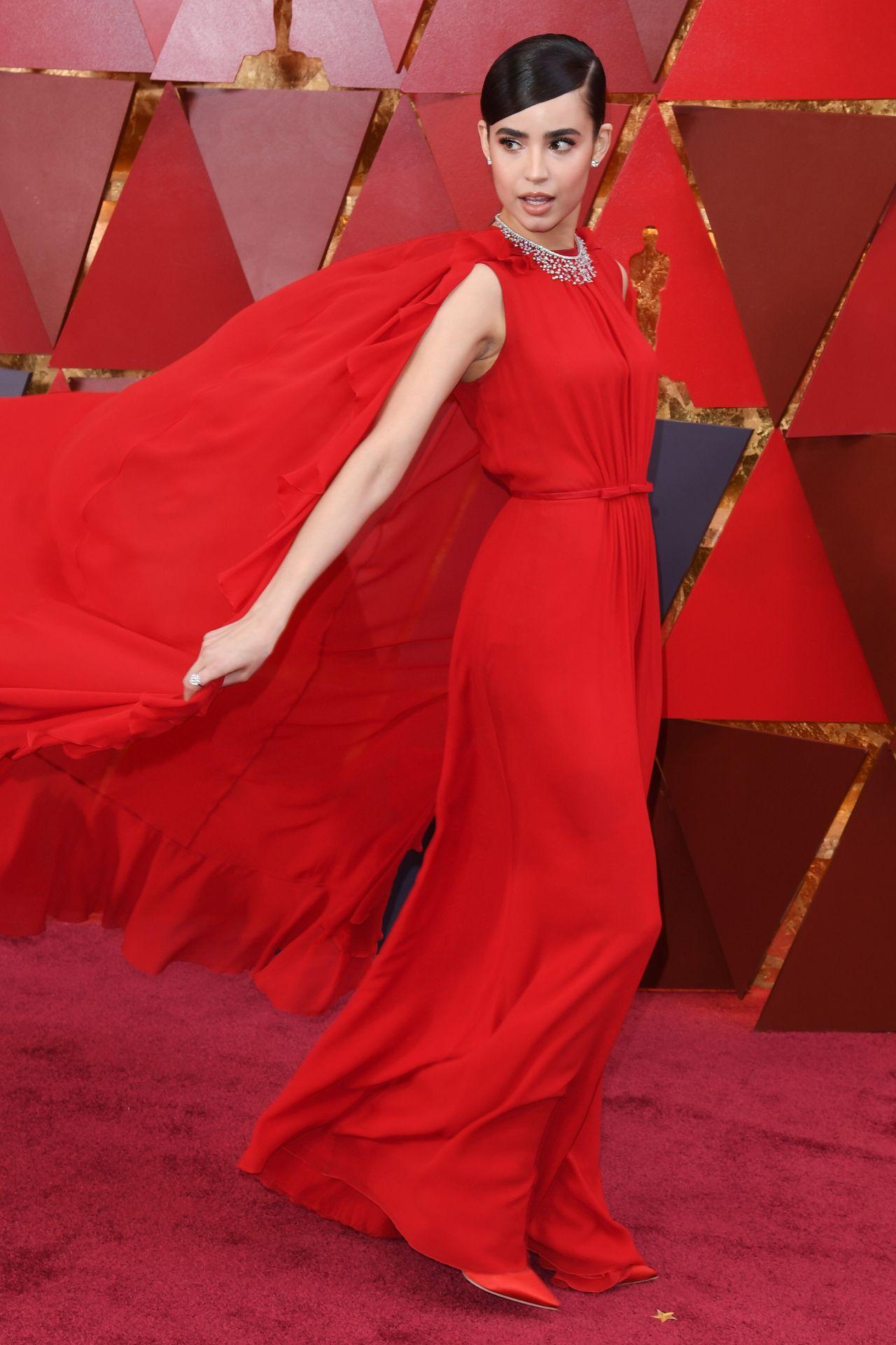 Sofia Carson  Oscars 2018 Red Carpet