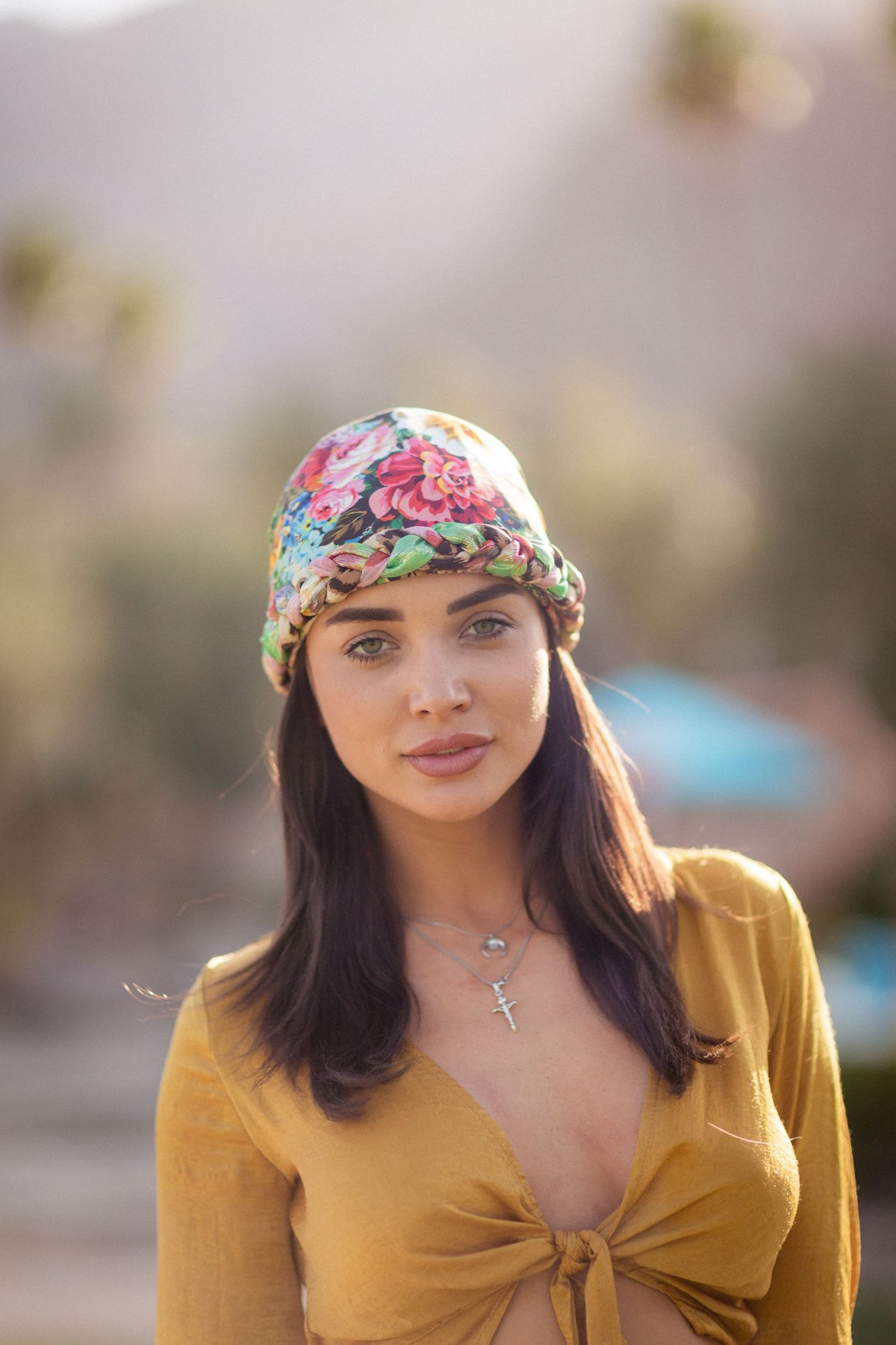 Amy Jackson  Festival KickOff Brunch at Coachella 2018