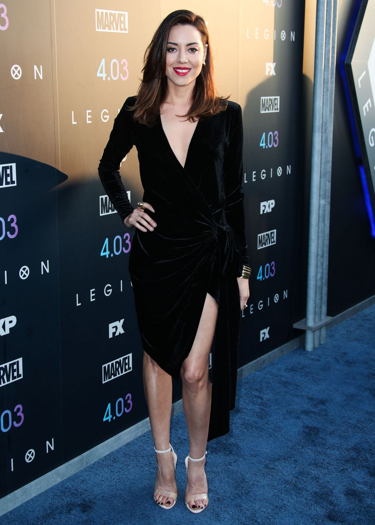 Aubrey Plaza  Legion Season 2 Premiere in LA