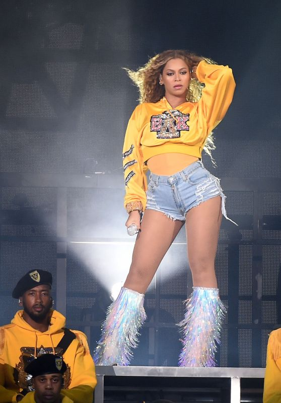 Beyonce Performs At The 2018 Coachella Valley Music And