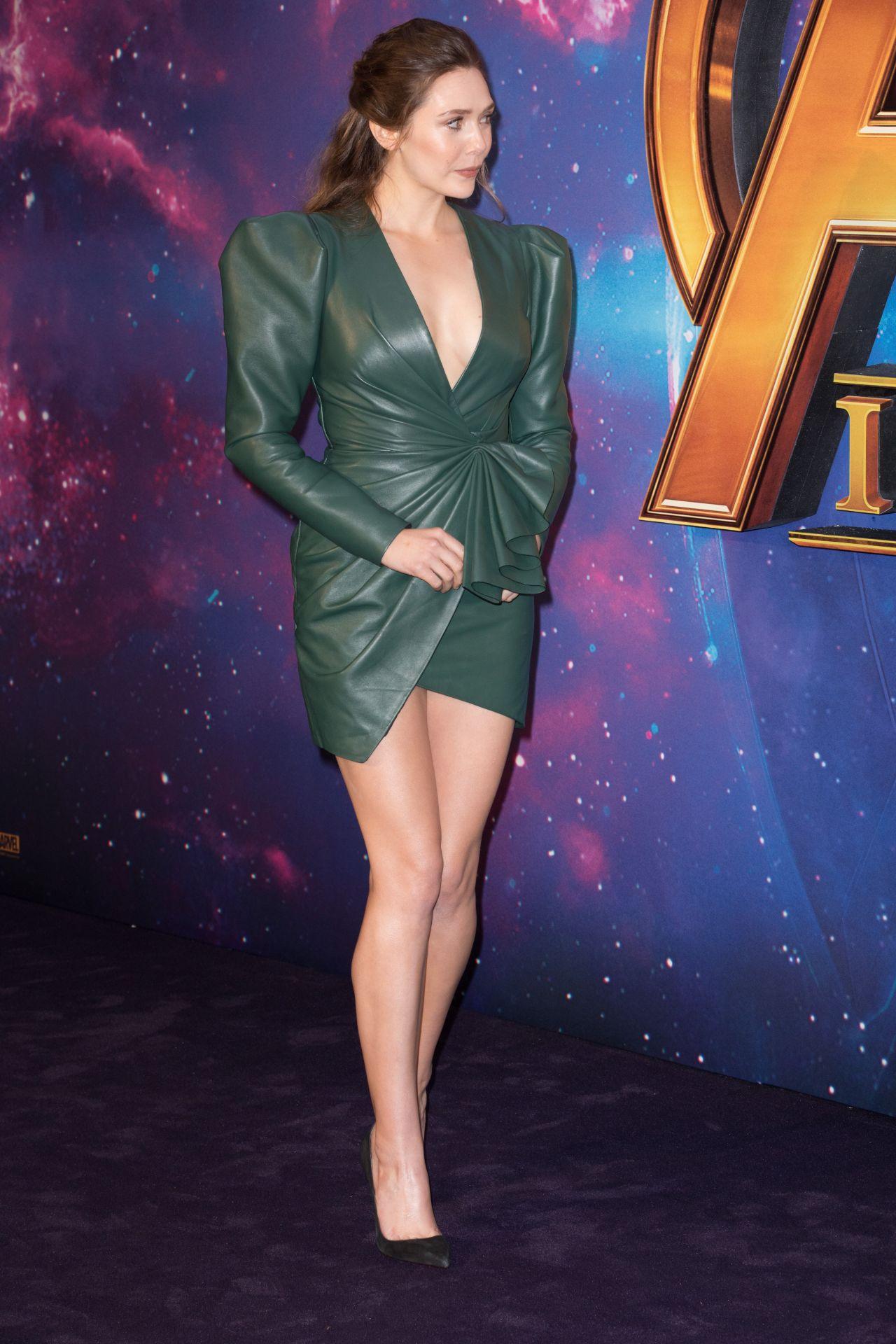 Elizabeth Olsen Avengers Infinity War Fan Screening