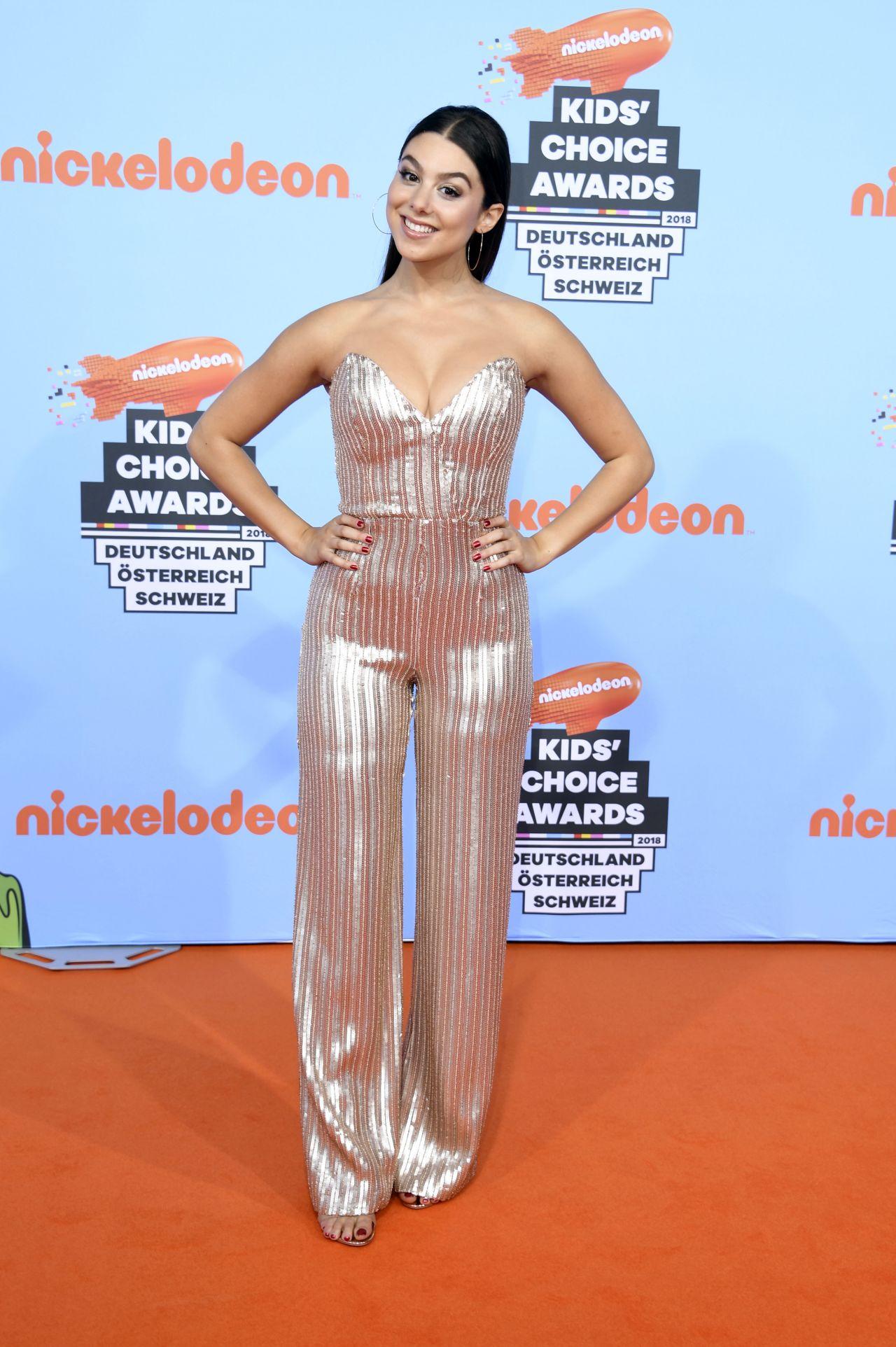 Kira Kosarin 2018 Nickelodeon Kids Choice Awards At