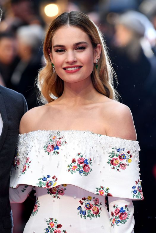 """Lily James - """"The Guernsey Literary and Potato Peel Pie ..."""