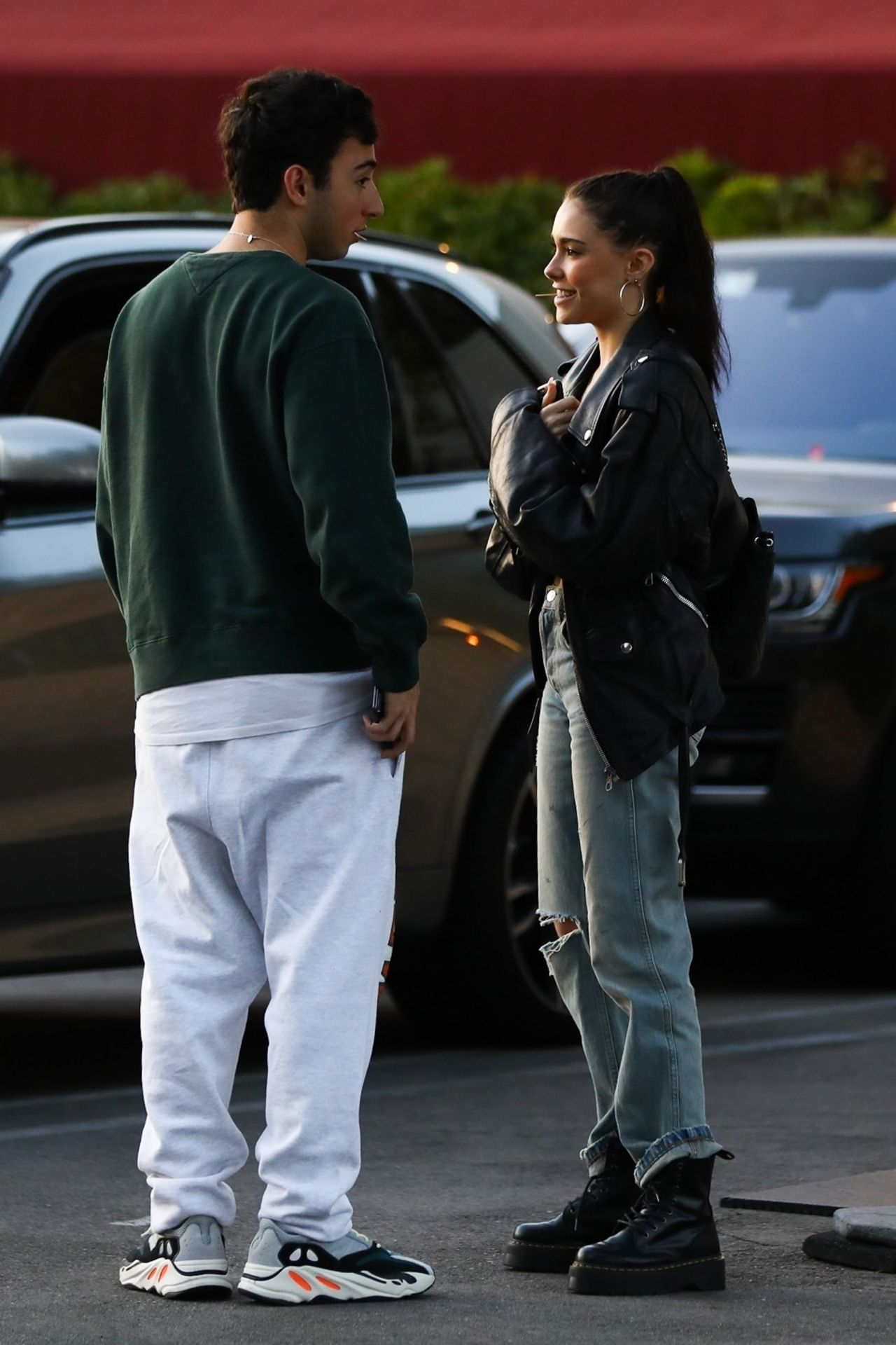 Madison Beer With Her Boyfriend Zack Bia in Los Angeles 04