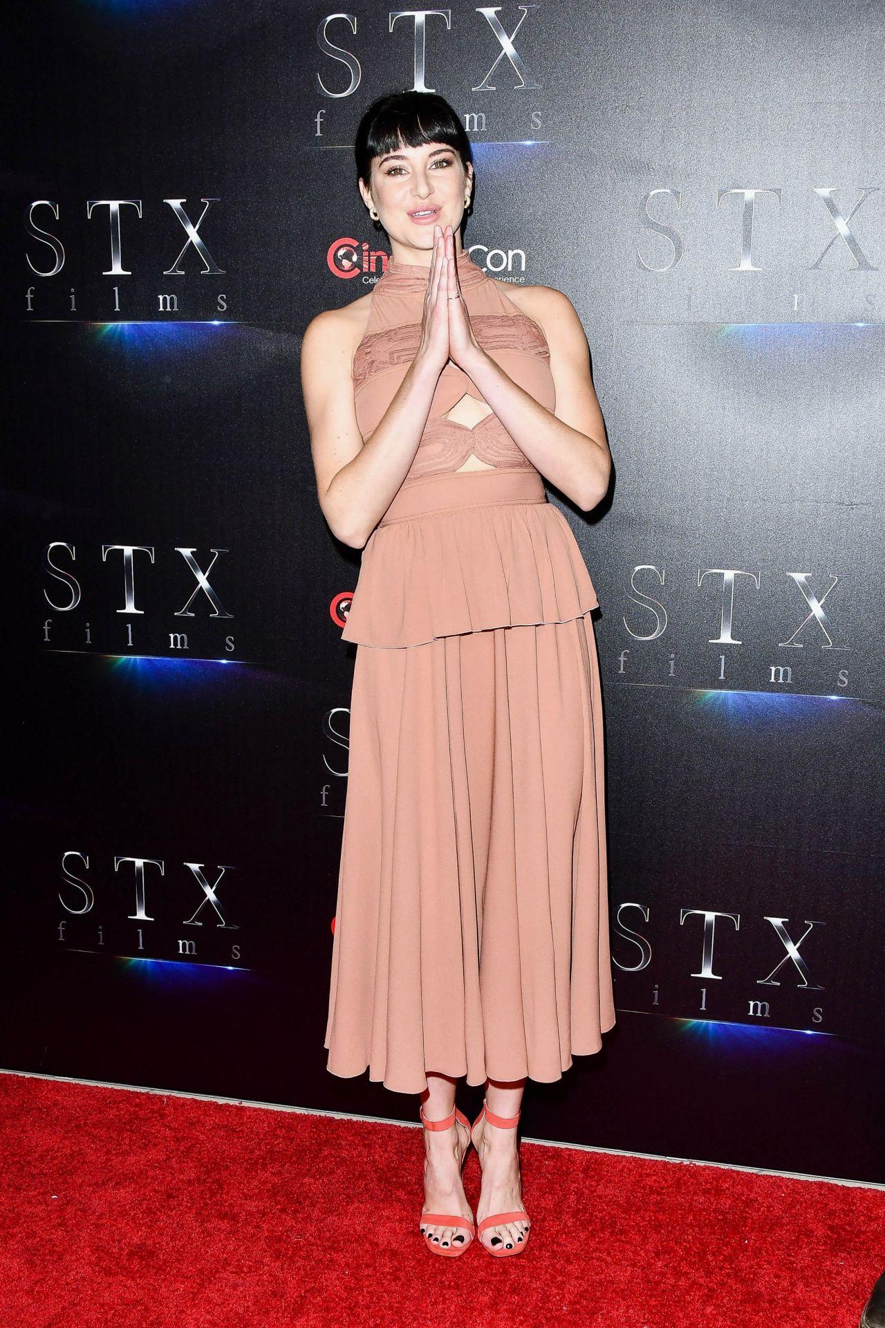 Shailene Woodley  STXfilms Presentation at CinemaCon 2018