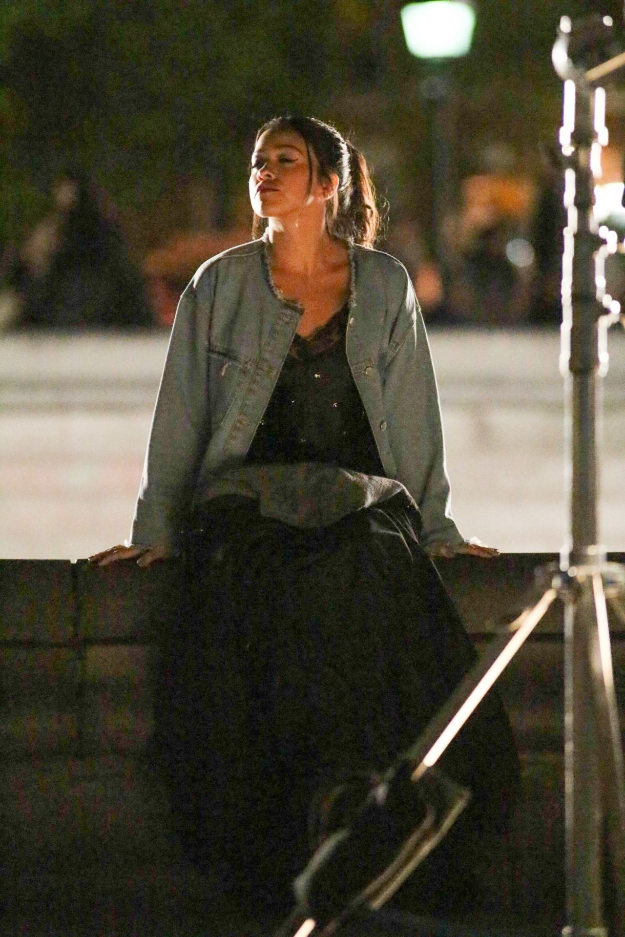 Gina Rodriguez Filming Scenes For The Netflix Someone