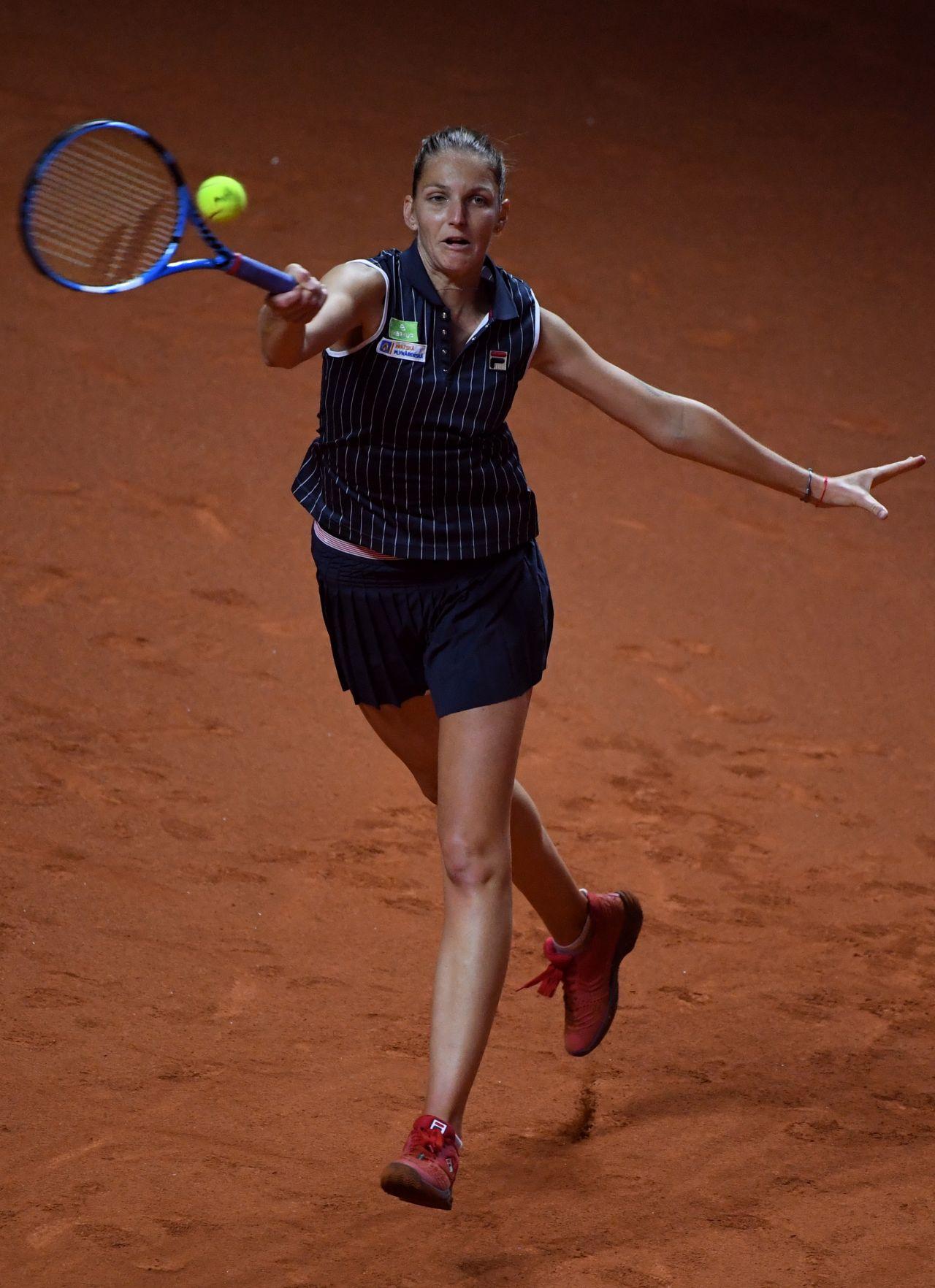Karolina Pliskova  Porsche Tennis Grand Prix in Stuttgart 04292018