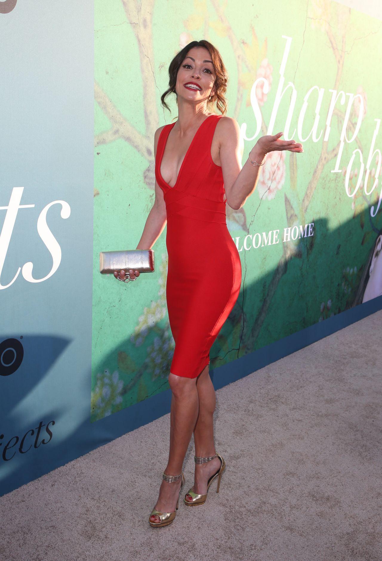 Emmanuelle Vaugier Sharp Objects Premiere In Los Angeles