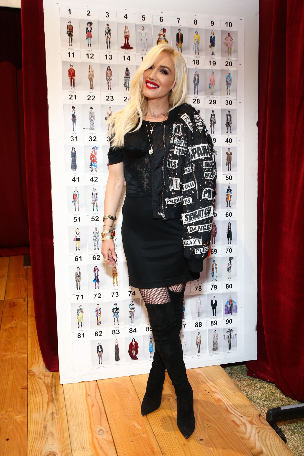 Gwen Stefani  Moschino SS 2019 Menswear And Womens Resort Collection in Burbank
