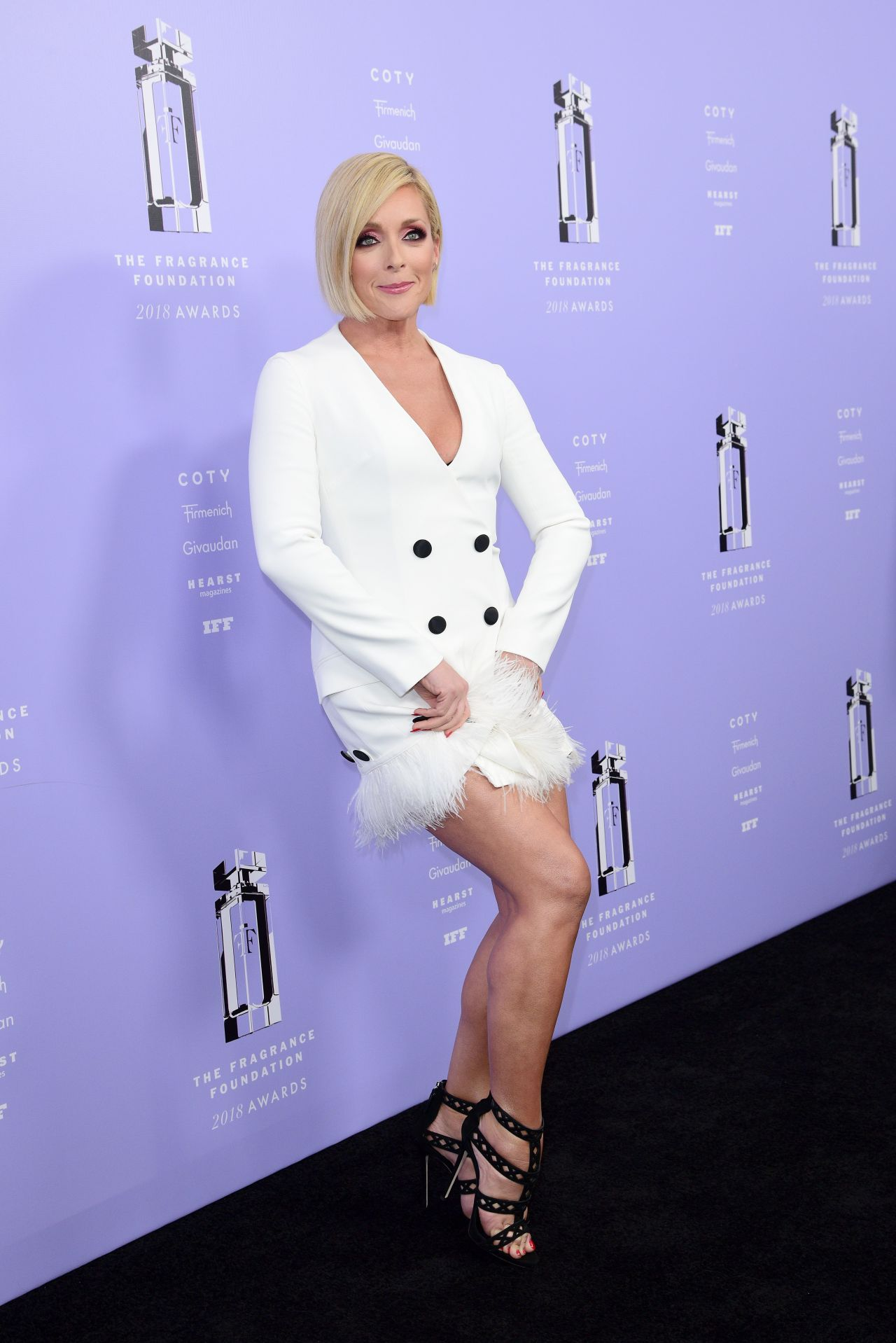 Jane Krakowski  2018 Fragrance Foundation Awards in NYC