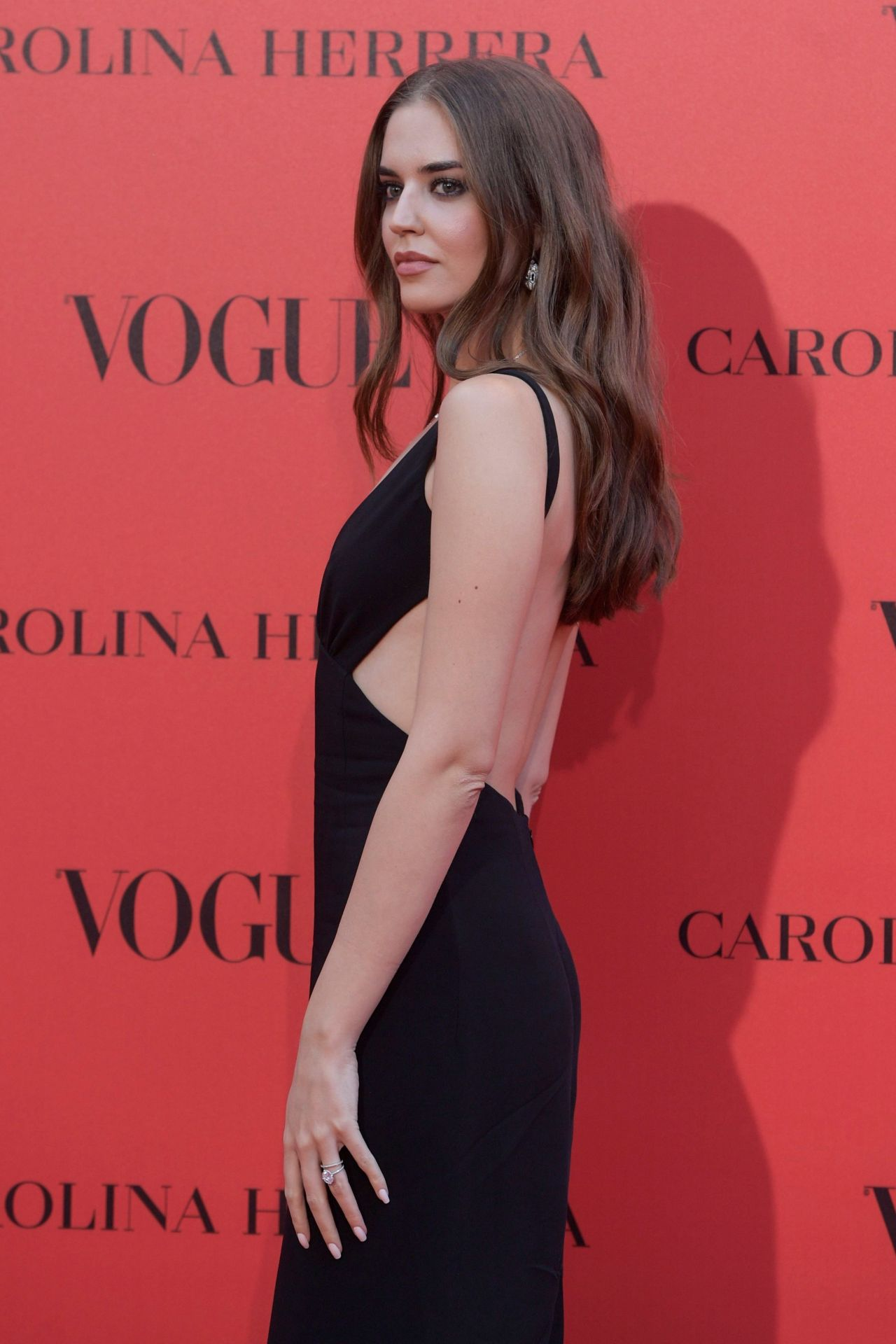 Clara Alonso  VOGUE Spain 30th Anniversary Party in Madrid