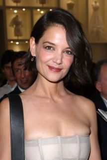 Katie Holmes Christian Dior Show Haute Couture