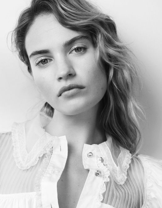 Lily James - Photoshoot for Vanity Fair Italy August 2018