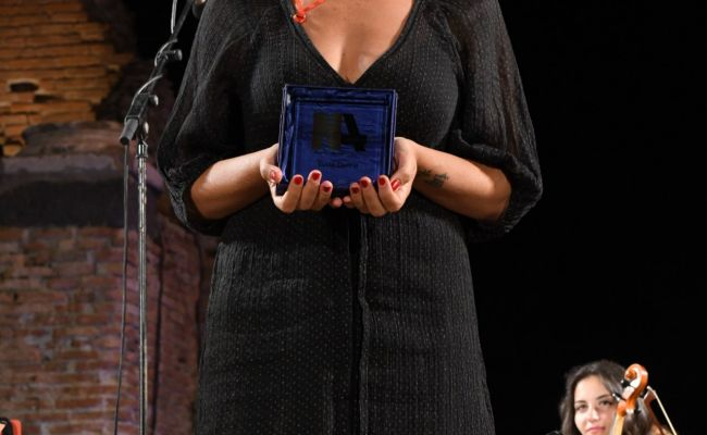 Lucia Ocone Nations Award In Taormina 07 14 2018