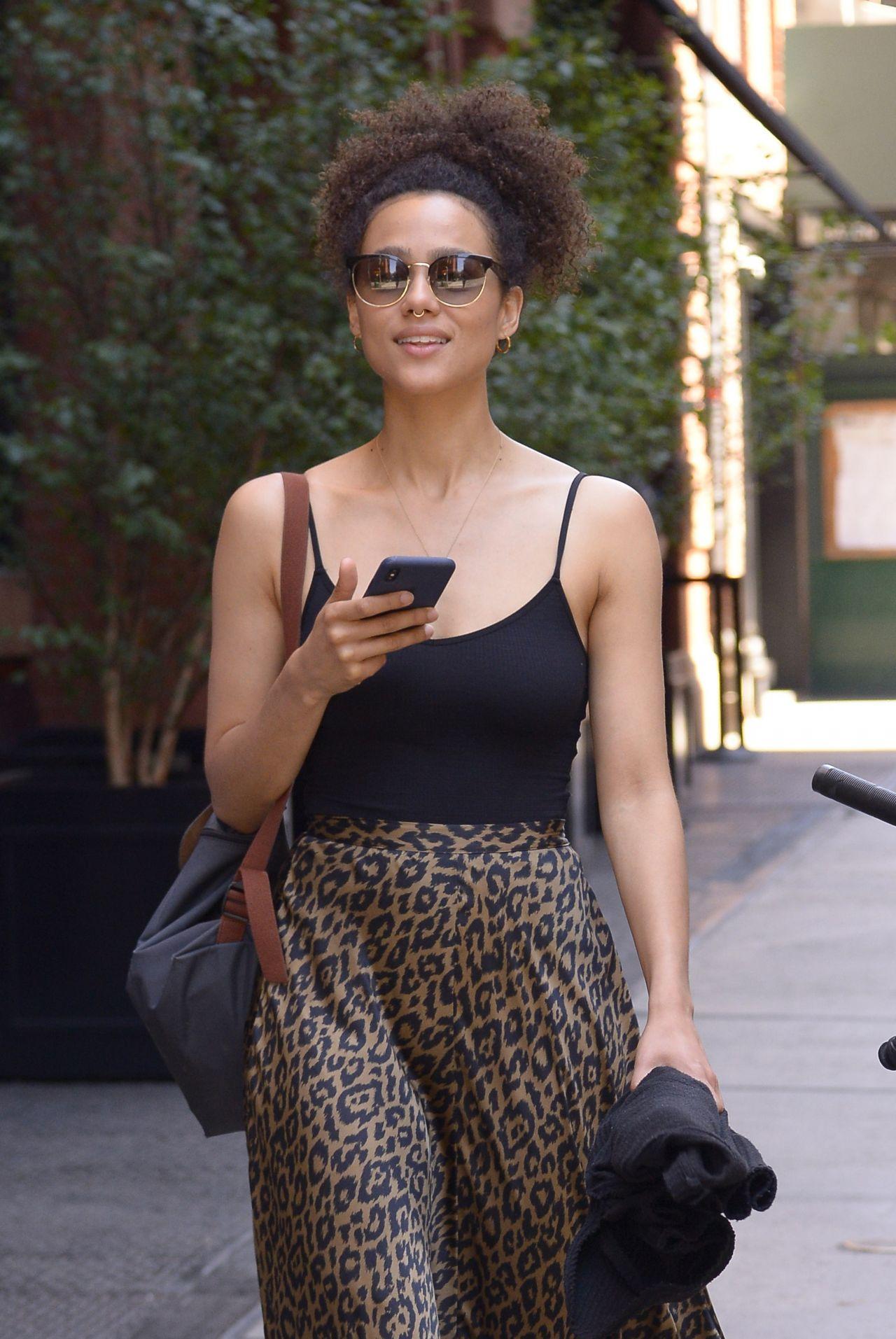 Nathalie Emmanuel In NYC 07182018