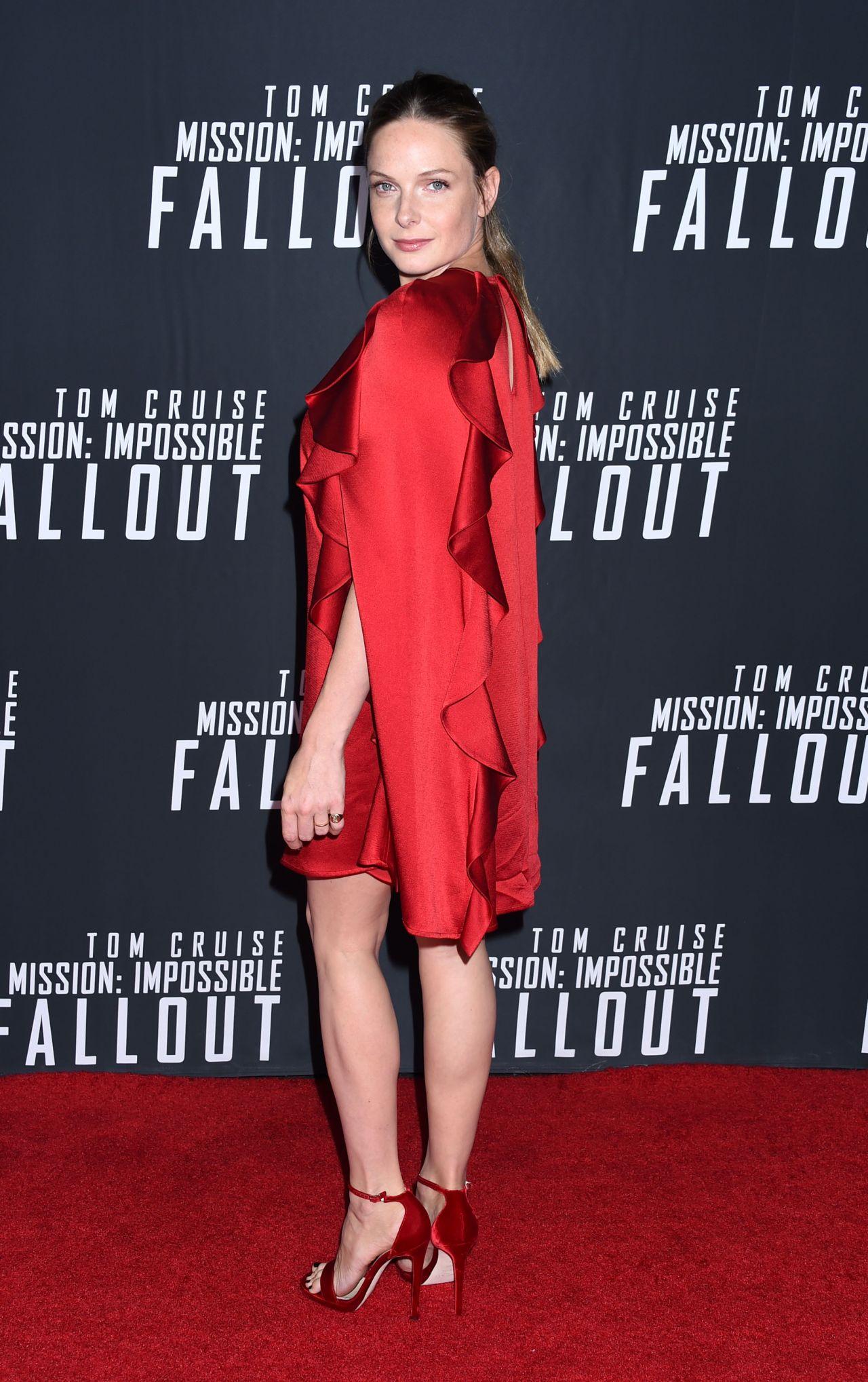 Rebecca Ferguson  Mission Impossible Fallout Premiere